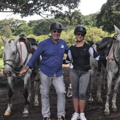 Florence et Patrick au Costa Rica